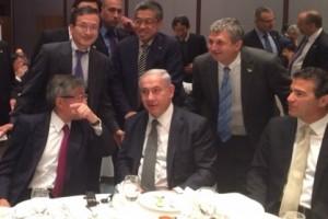 イスラエル大使館主催の「ネタニヤフ首相との昼食会」