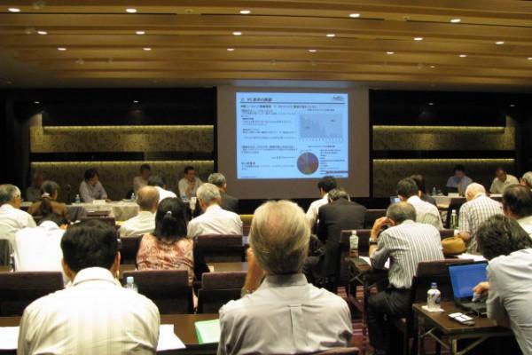 日本ベンチャー学会主催「21世紀型の新たな成長戦略に向けて」セミナーの様子